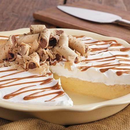 Dulce de Leche Banana Rum Pie | Recipe