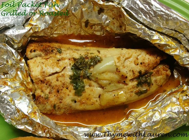 foil packet fish grilled or baked recipe pinterest