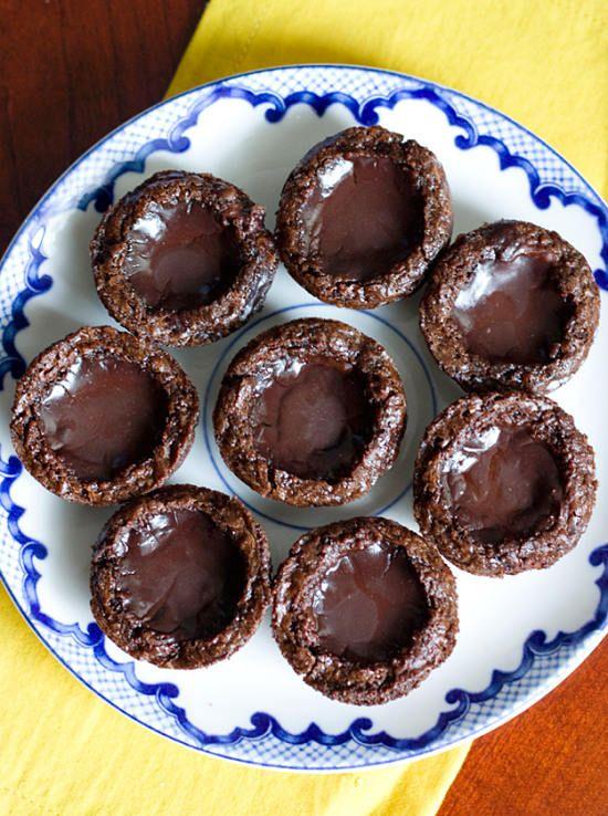 Drunken Chocolate Brownie Pudding Shots | recipes | Pinterest