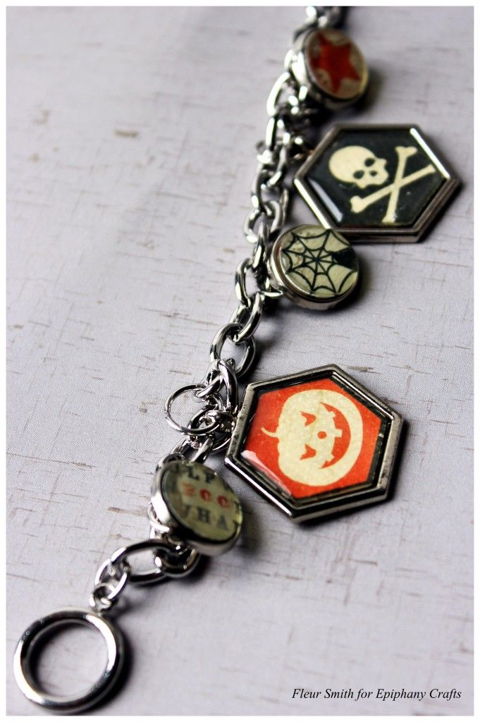 Halloween Jewelry  Fleur Smith Halloween Jewelry Craft Ideas