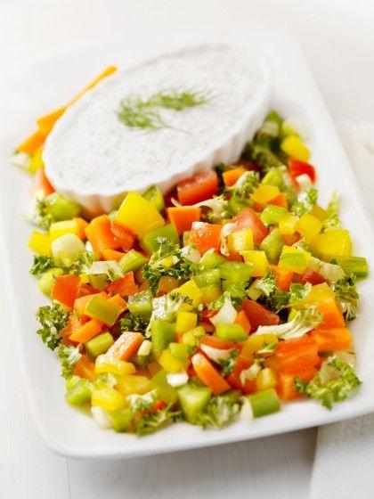 creamy fresh herb dressing | Food Favorites | Pinterest