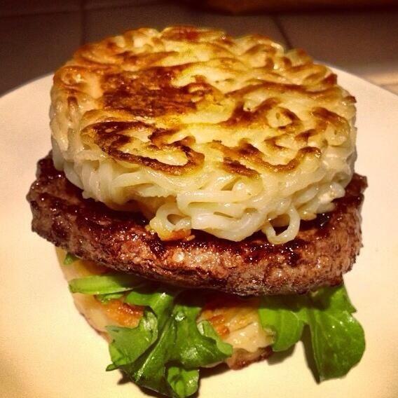 recipes blog ramen yummy   burger So delicious   Pinterest noodle yummy Ramen