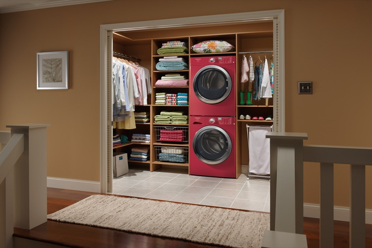 Closet laundry room my remodeling ideas pinterest - Walk in closet paint ideas ...