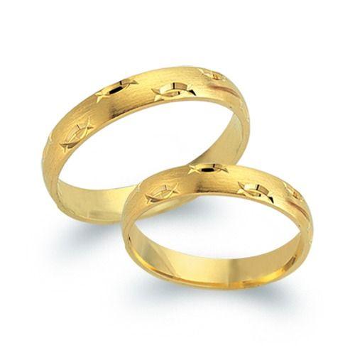 Trauringe Gold: Exklusive Eheringe aus 333er Gelbgold in 3mm Breite ...