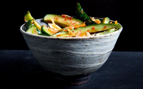 Cucumber Kimchi (aka oi kimchi): Kimchi is very healthy & tastes great ...