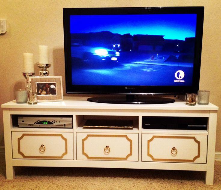 Hemnes Ikea Tv Stand Assembly ~   Anne Kit for IKEA Hemnes TV stand 3 drawer  IKEA Hack  Pinterest