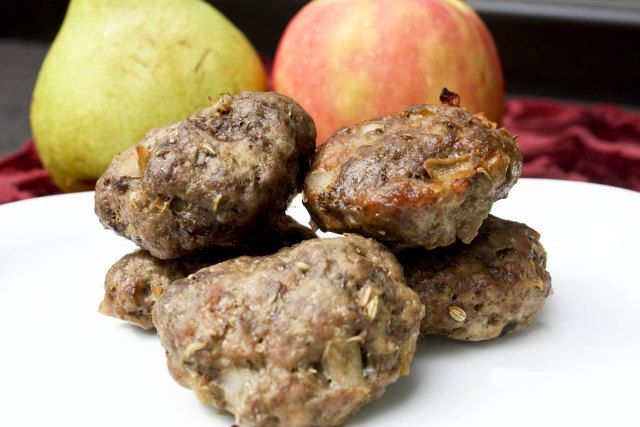Apple & Pear Maple Breakfast Sausage | Recipes: Breakfast, Egg Dishes ...