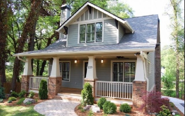 Beautiful craftsman style bungalow our someday home pinterest - Romanian style tasteful houses ...