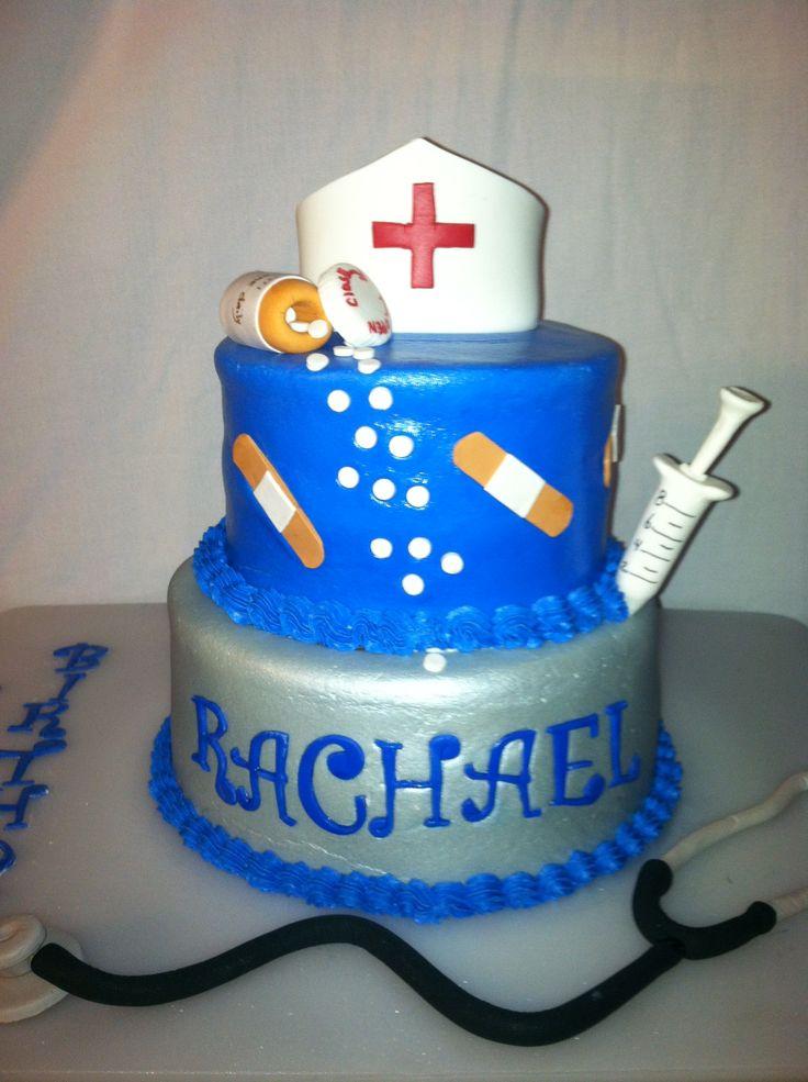 Nurse birthday cake  Cakes by Nita  Pinterest
