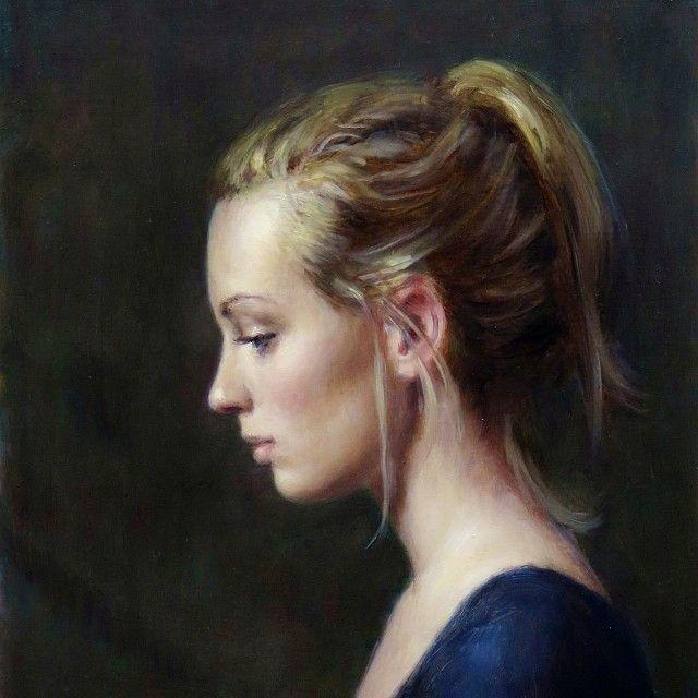 Harry holland art pinterest for Basic portrait painting