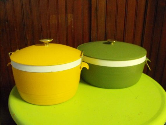 Vintage ThermOWare Insulated Sunfrost and Olympian by peacenluv72, $26.50
