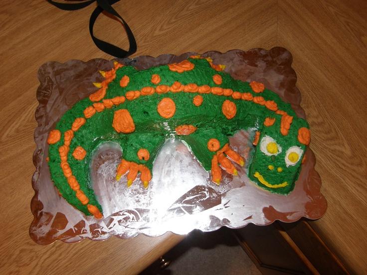 Homemade Dinosaur Cake Cake Baking Pinterest
