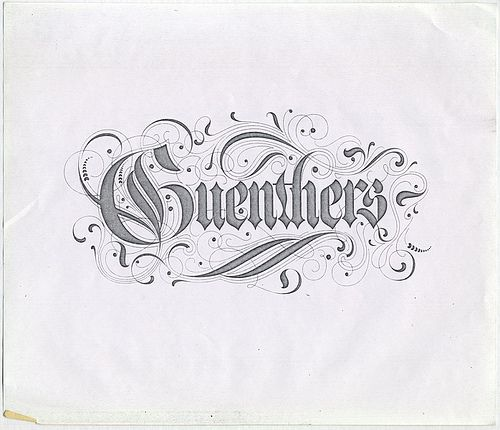Sundwall type - Guenthers A * CAD * Alphabets/Doodle Words Pinter ...