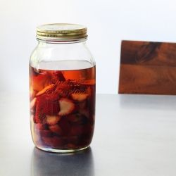 Use this Strawberry Infused Bourbon to put a twist on some classic ...