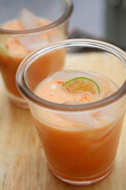 Melon Nectarine Agua Fresca | Recipe