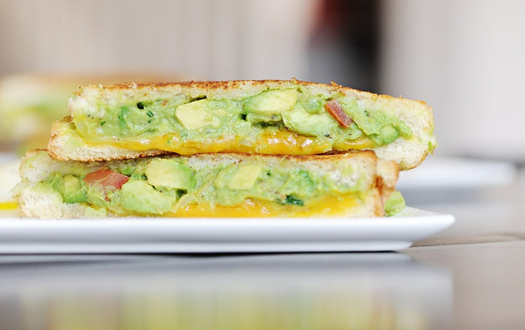 Guacamole Grilled Cheese Sandwich | Favorite Recipes | Pinterest