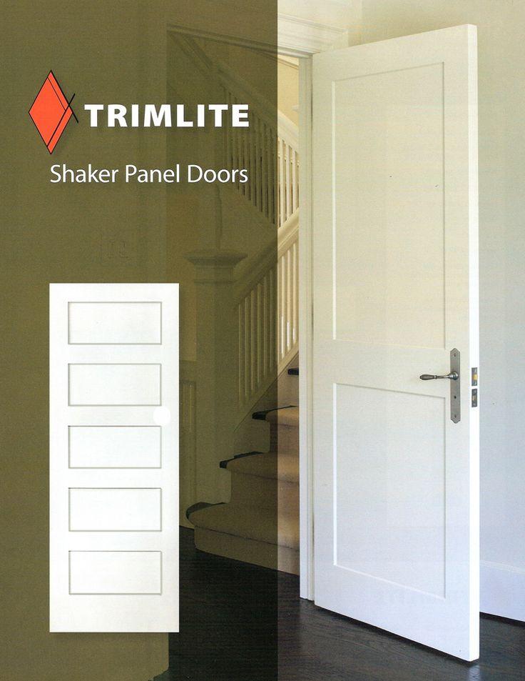 Interior Wooden Shaker Doors Doors Pinterest