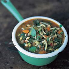 Spring Minestrone Soup | recipes | Pinterest