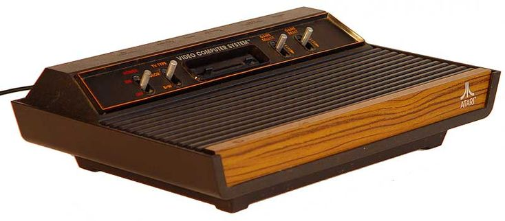 My beloved Atari 2600 that I bought at an appliance store when I was 13. Of course I have a few others from yard sales :)