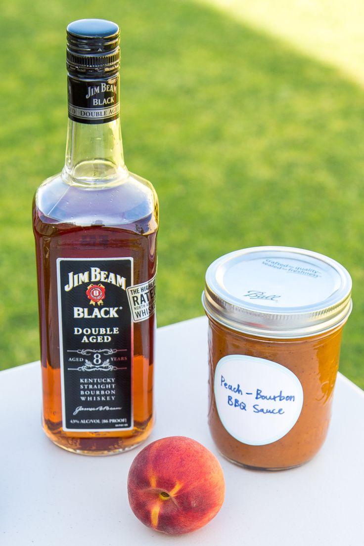 Peach-Bourbon BBQ Sauce 2 | Dinner | Pinterest