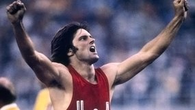 Bruce Jenner wins decathlon gold
