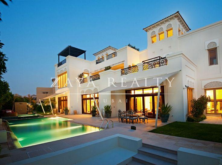 Acacia type villa al barari dubai dubai luxury homes for Dubai luxury homes photos