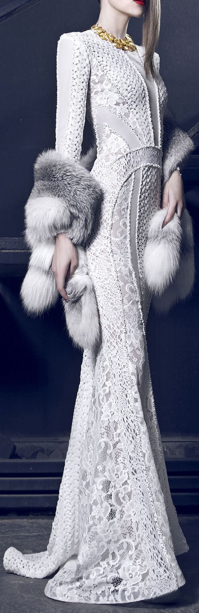 Nicolas Jebran Couture Fall/Winter 2014-2015