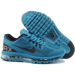 www.asneakers4u.com/ NIKE AIR MAX 2013 cheap mens running shoes blue