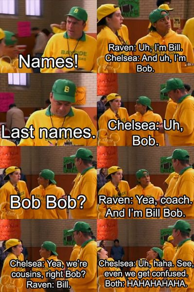 I loved thats so Raven.