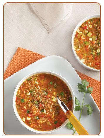 Peruvian Vegetable Quinoa Soup | Nourished | Pinterest
