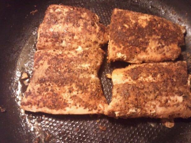 Slammin Blackened Salmon | Recipe