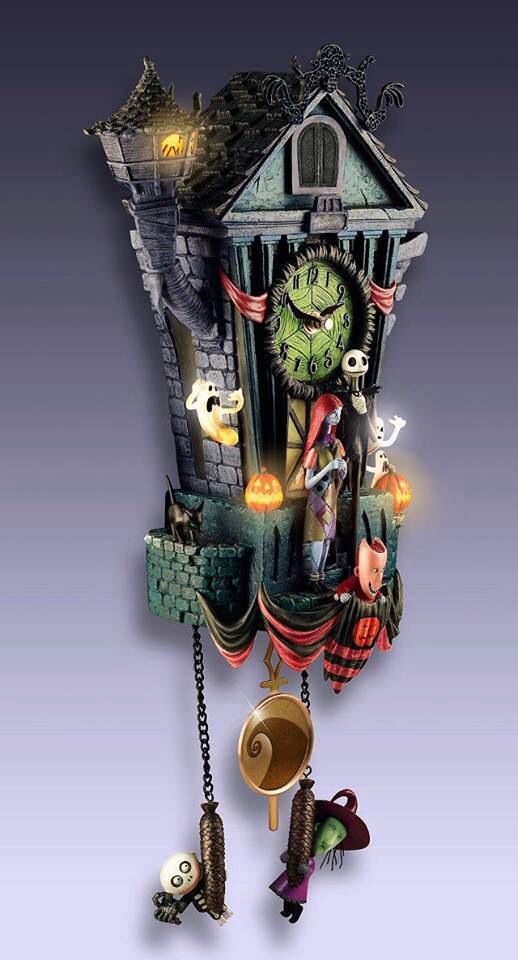 Nightmare Before Christmas Clock | Disney | Pinterest