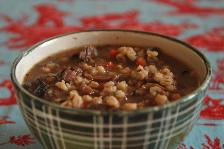 Short Rib Barley Soup - Like a Warm Hug from Your Beefiest Friend ...