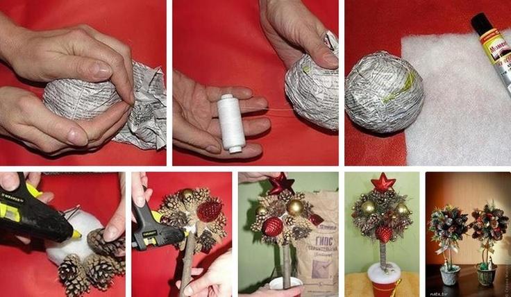 Easy to make christmas tree art attack pinterest