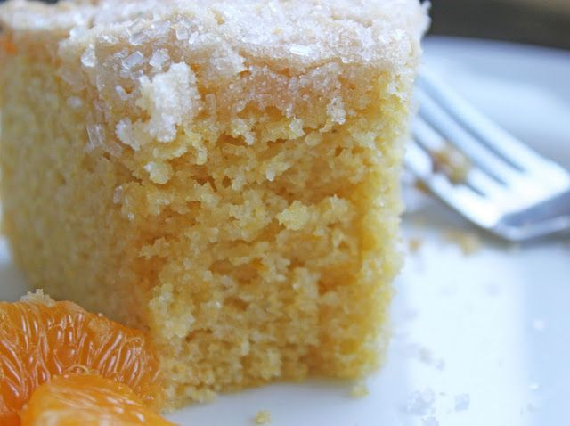 Mimi's Kitchen: Orange Cornmeal Cake | sweet deliciousness | Pinterest