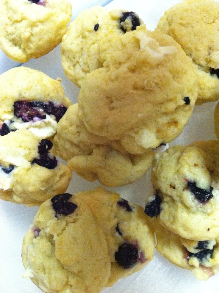 Lemon Blueberry Cookies Recipe — Dishmaps