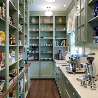 Butler 39 s pantry design ideas for the home pinterest for Kitchen plans with butlers pantry
