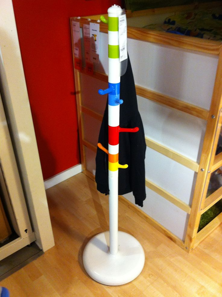 Kids ikea coat rack kids room ideas pinterest Kids coat rack