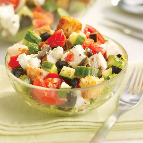 Greek chopped salad | salads | Pinterest
