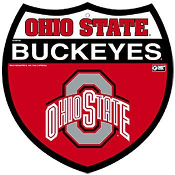 Ohio State Buckeyes Interstate Sign. Almost time to hit the road again ...