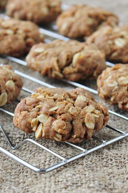 Anzac Cookies | Dessert | Pinterest