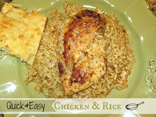 Kaitlin in the Kitchen}: Quick + Easy Chicken & Rice *Tip ~ it's ...