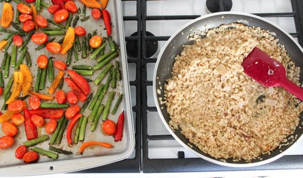 Roasted Spring Vegetable Herbed Risotto Recipes — Dishmaps