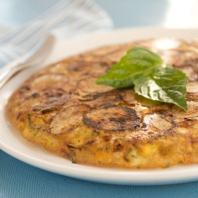 Zucchini & Potato Frittata | Potato | Pinterest