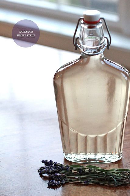 lavender simple syrup by Perpetually Chic, via Flickr