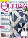 McCall's Quilting Magazine, May/June 2011