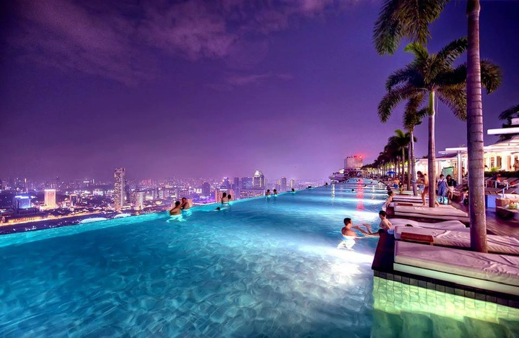 Singapore Hotel With Infinity Pool On Rooftop Image Singapore Infinity Pool Travel Want Pinterest