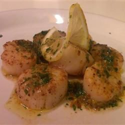 tarragon butter sauce seared scallops with tarragon butter sauce stock ...