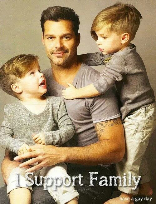 Opinion Ricky martin twin sons thanks for