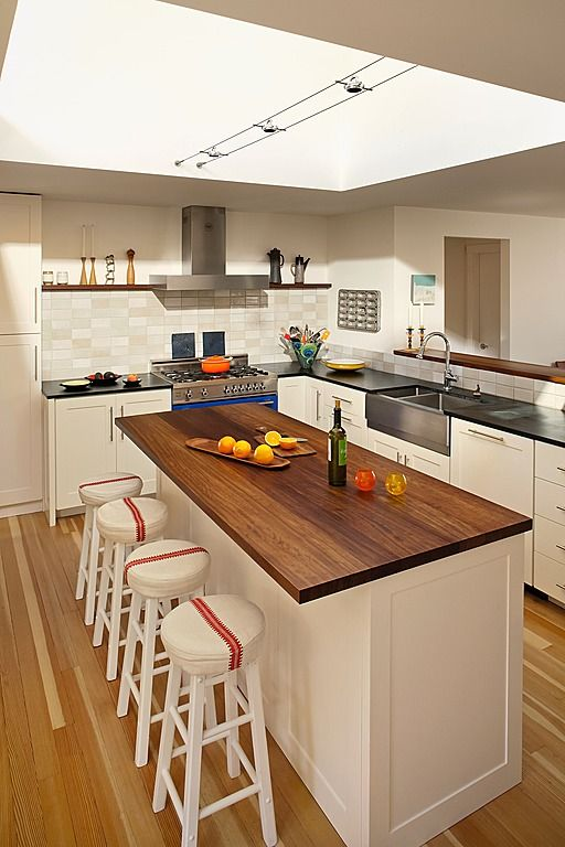 Pin by peggy f on kitchen remodel pinterest for L shaped breakfast bar